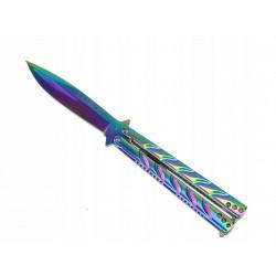 Nóż typu motylek ( buterfly...